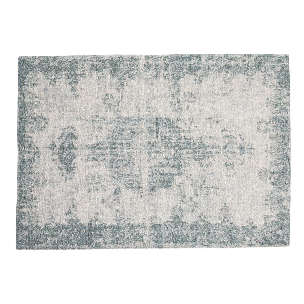 Teppich, 140 x 200cm, blau