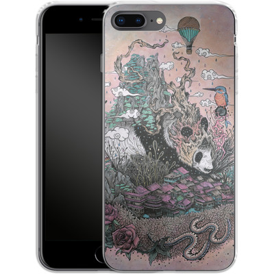 Apple iPhone 8 Plus Silikon Handyhuelle - Land Of The Sleeping Giant von Mat Miller