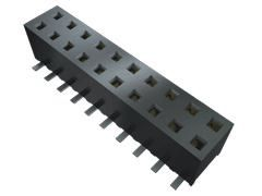 Samtec , MMS 2mm Pitch 20 Way 1 Row Vertical PCB Socket, Through Hole, Solder Termination (14)