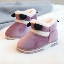Toddler Girls Faux Fur Lined Ankle Boots