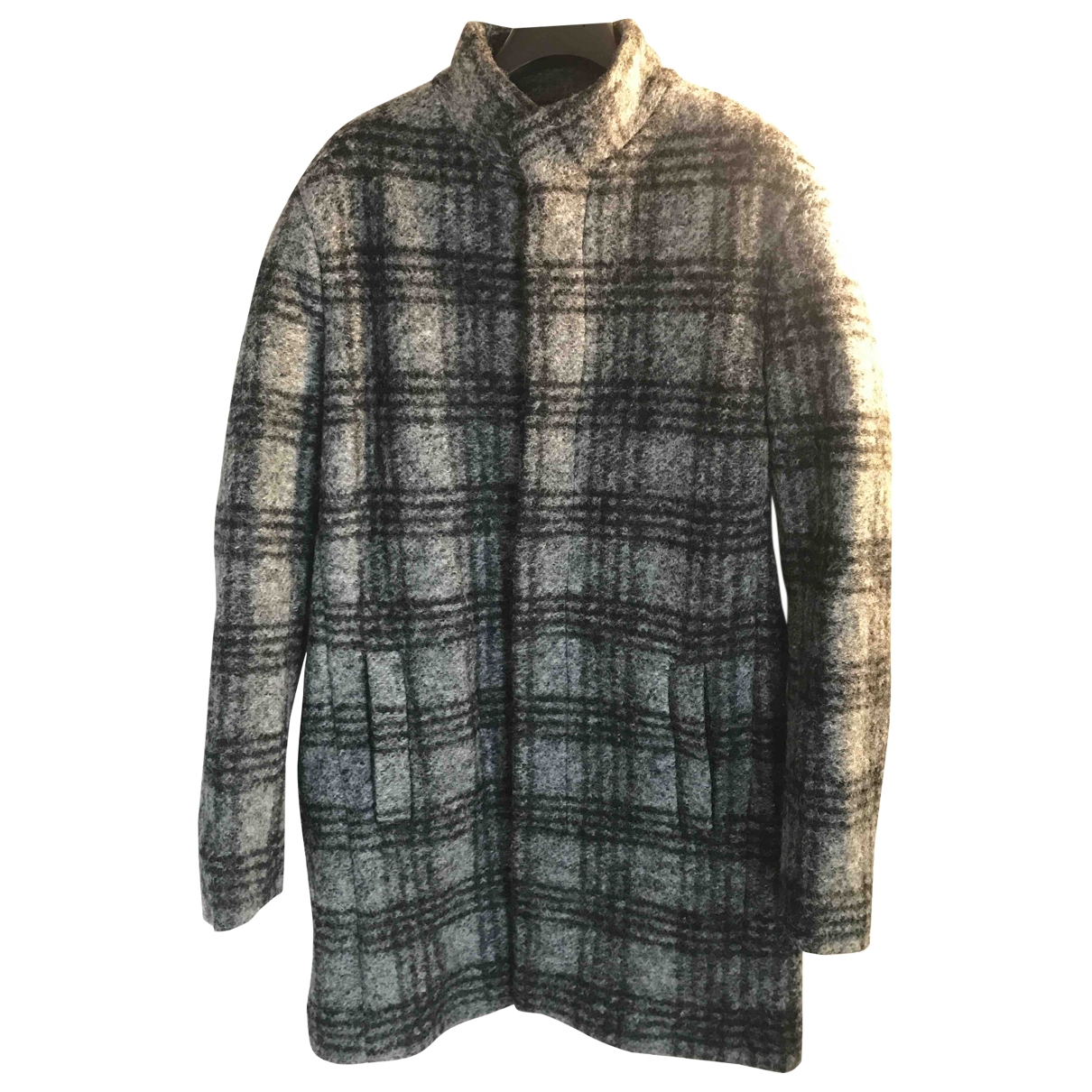 Zara \N Grey Wool coat  for Men M International