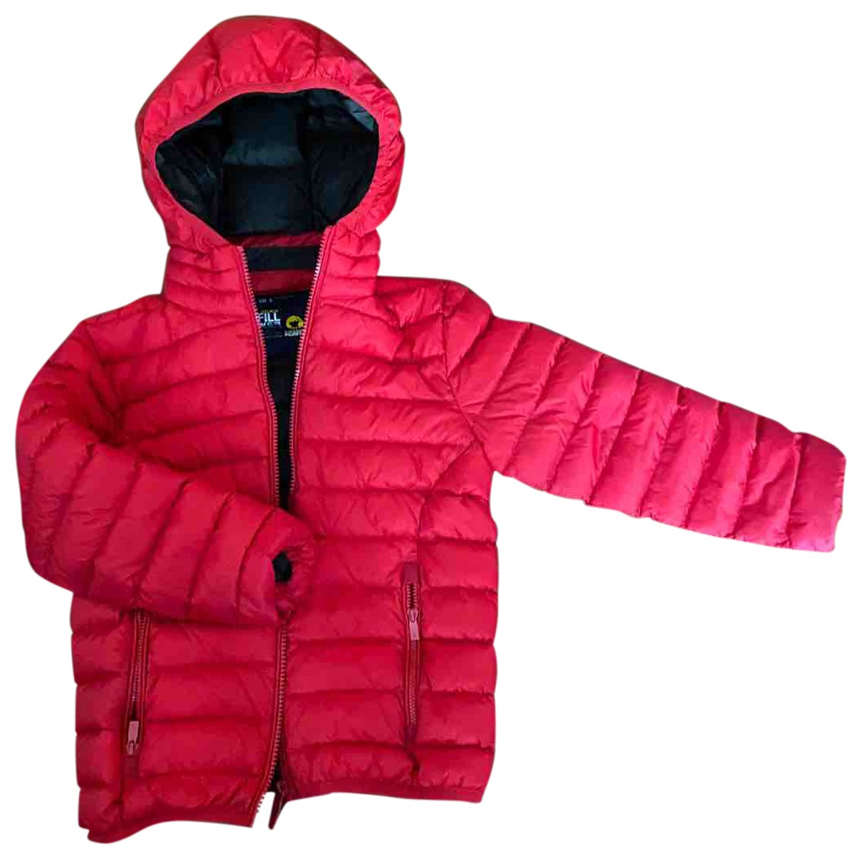 Autre Marque \N Jacke, Maentel in  Rot Polyester