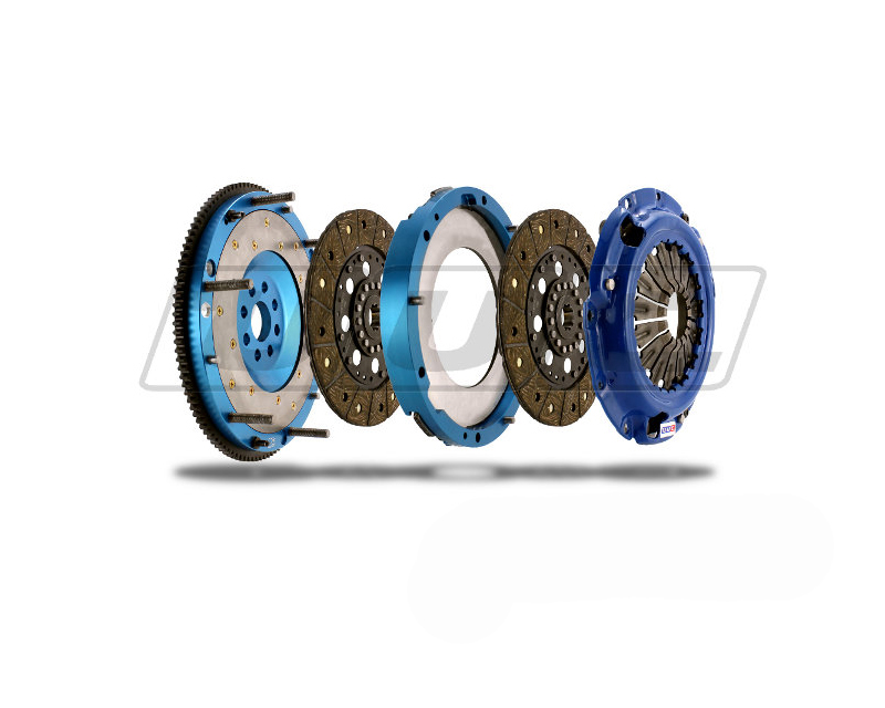 UUC Motorwerks UUC-TD-B11540-FE Twin Disk Feramic Clutch | Flywheel package BMW E39/E34 540i 6-speed 93-03