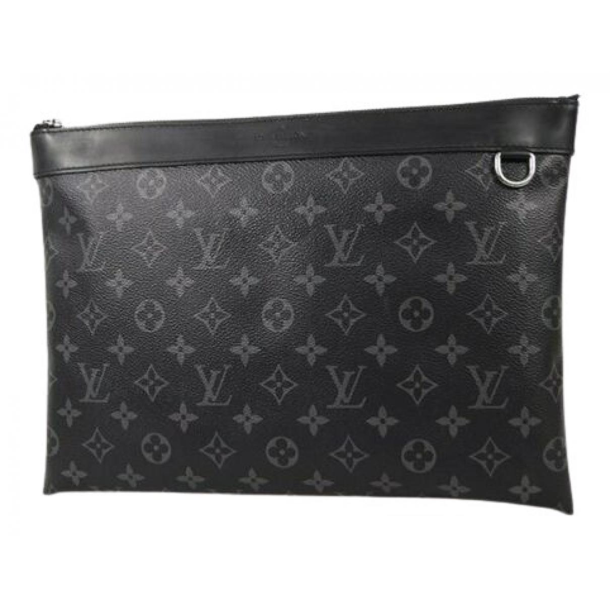Louis Vuitton \N Grey Cloth Clutch bag for Women \N