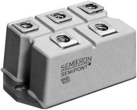 Semikron SKB 72/16, Bridge Rectifier Module, 150A 1600V, 7-Pin G 35