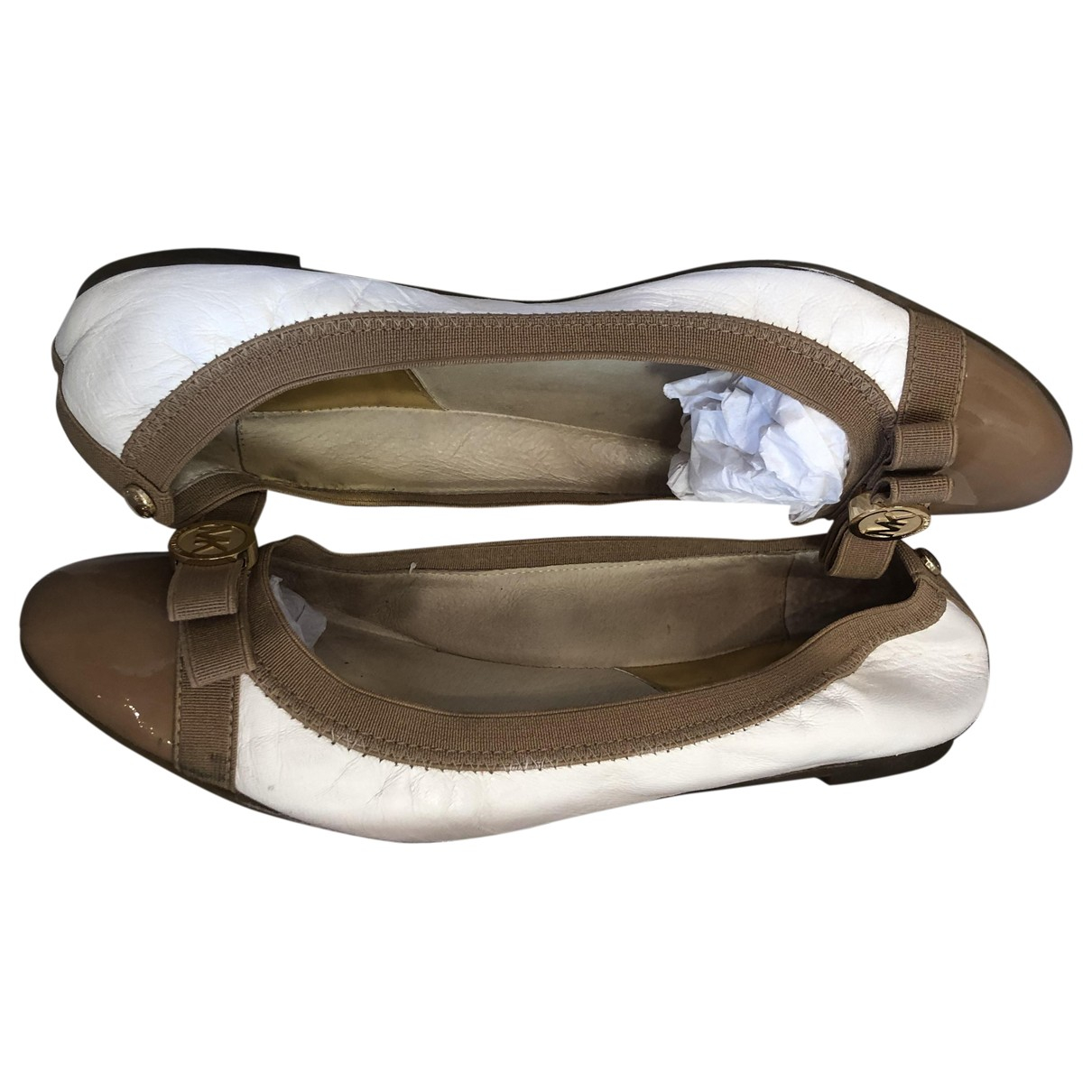 Michael Kors \N Ballerinas in  Bunt Leder