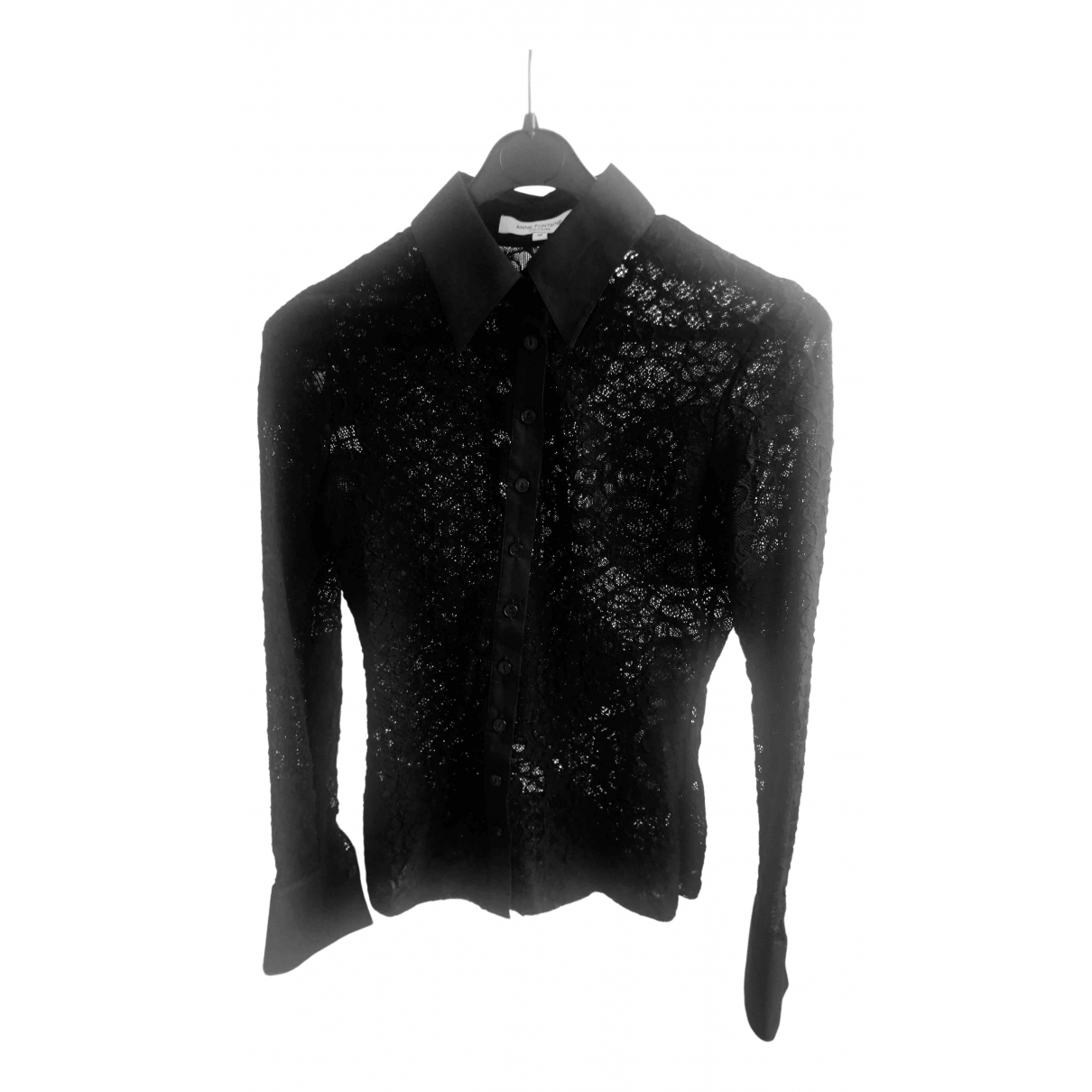 Anne Fontaine \N Black Lace  top for Women 38 FR