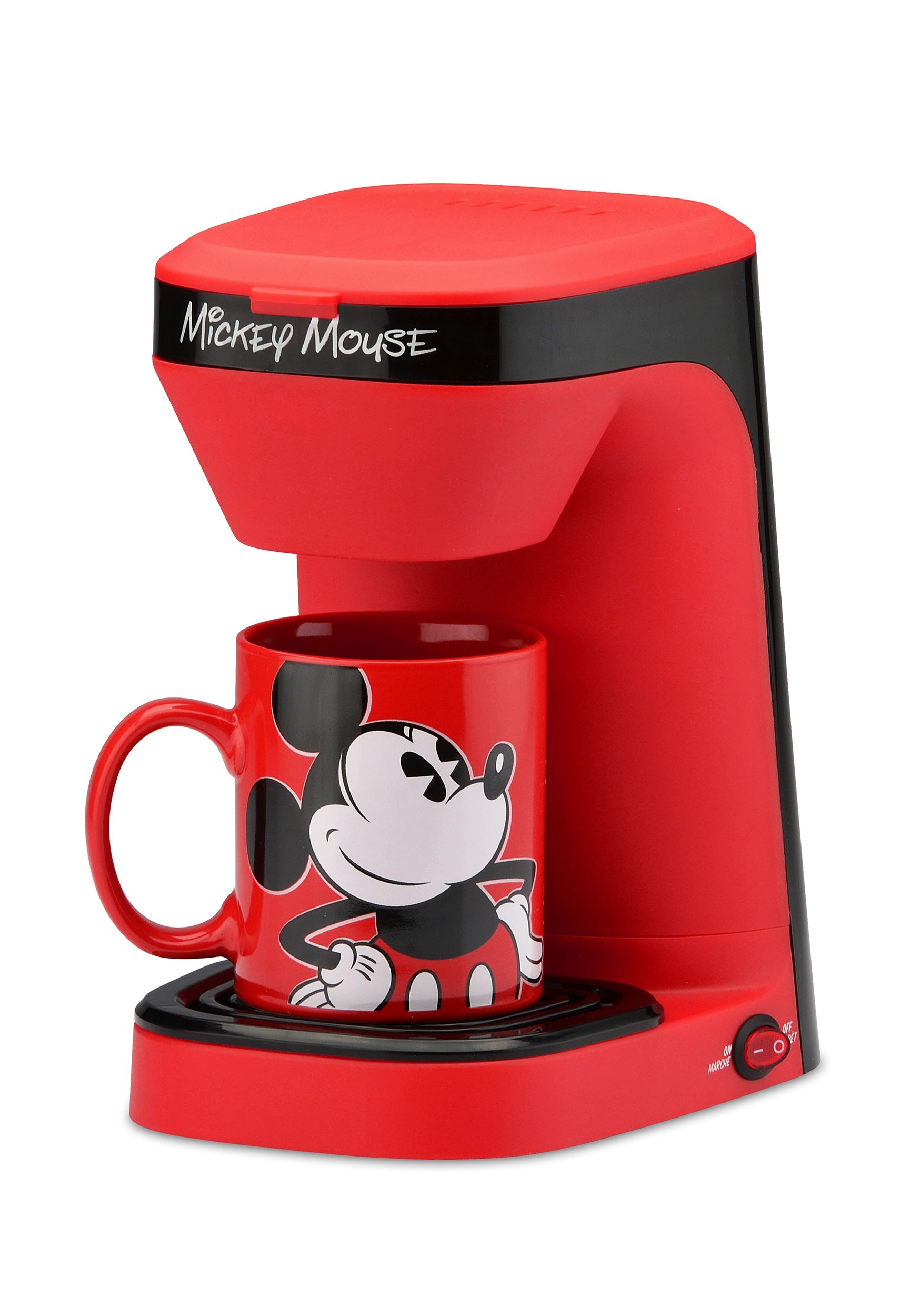 Disney Mickey Mouse Single Brew Coffee Maker