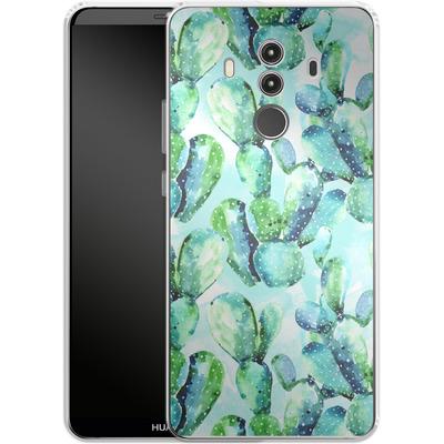Huawei Mate 10 Pro Silikon Handyhuelle - Cactus Tropicana von Mark Ashkenazi