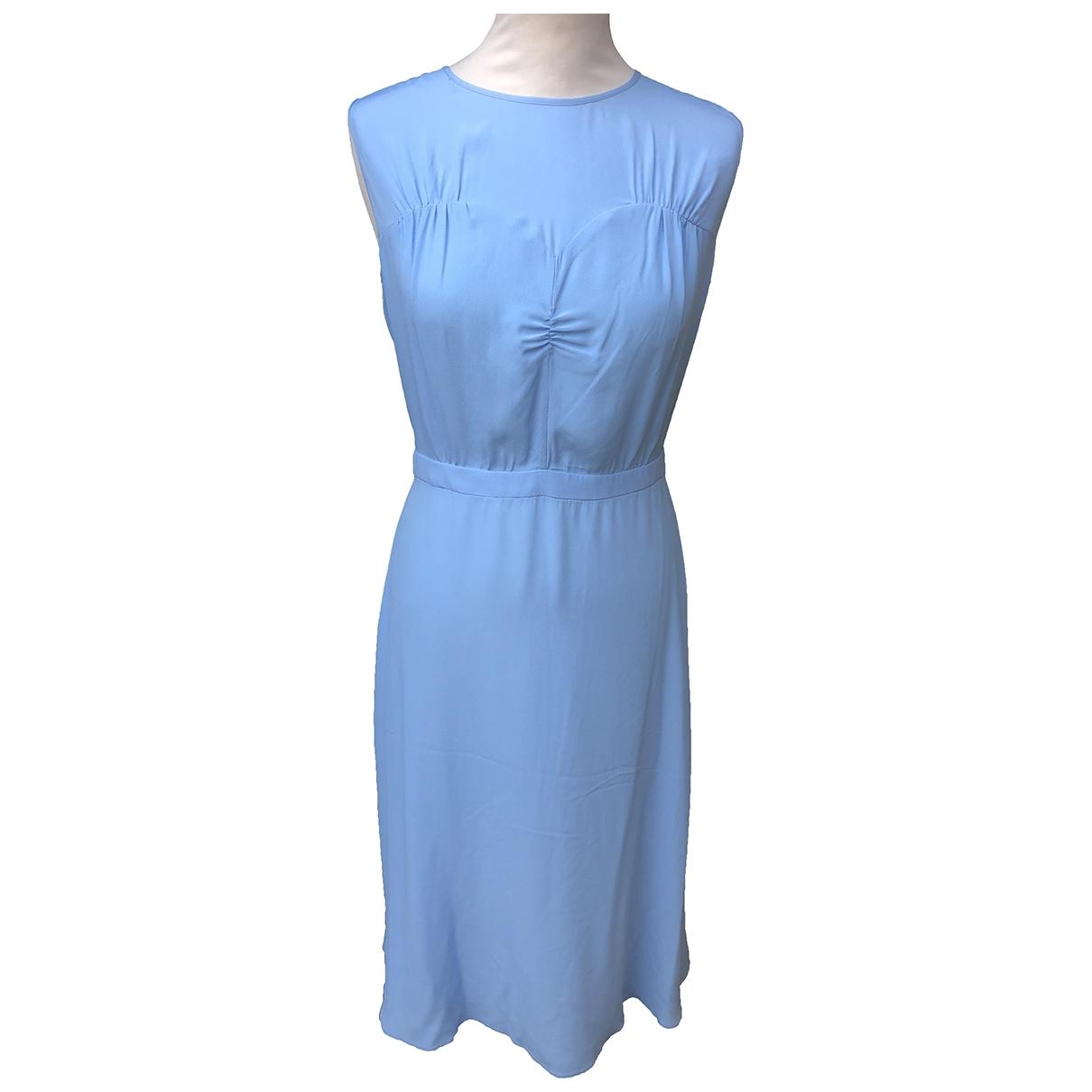 N°21 \N Kleid in  Blau Seide