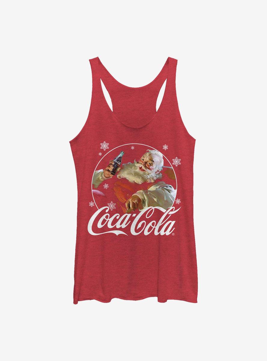 Coca-Cola Santa Womens Tank Top