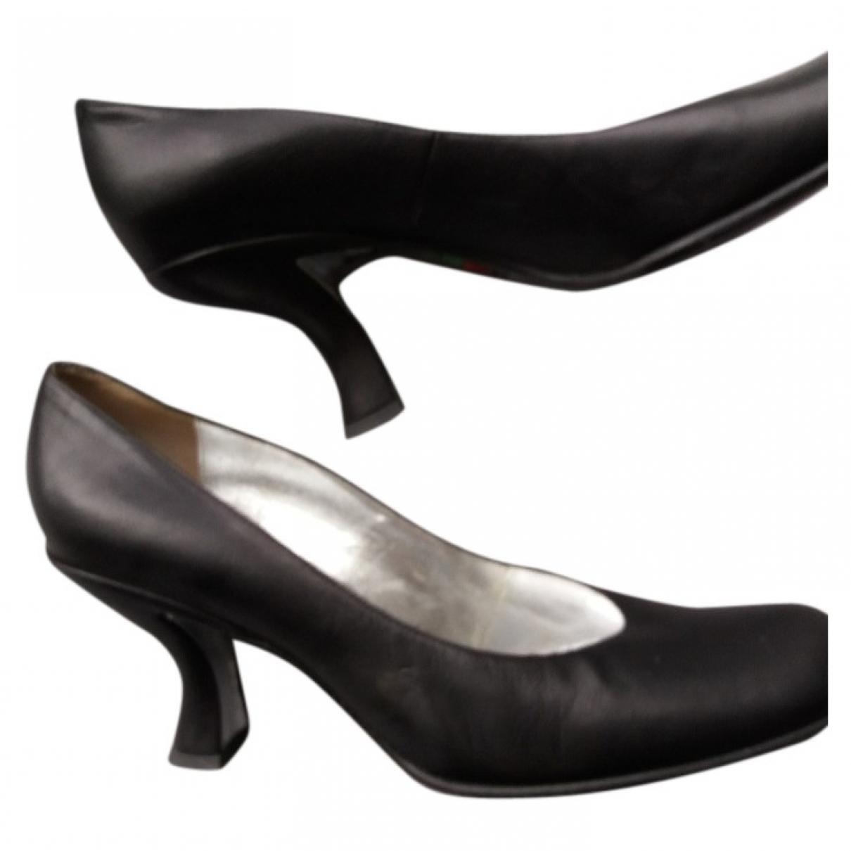 Free Lance - Escarpins   pour femme en cuir - noir