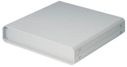 METCASE Unicase Grey Aluminium Project Box, 250 x 250 x 50mm