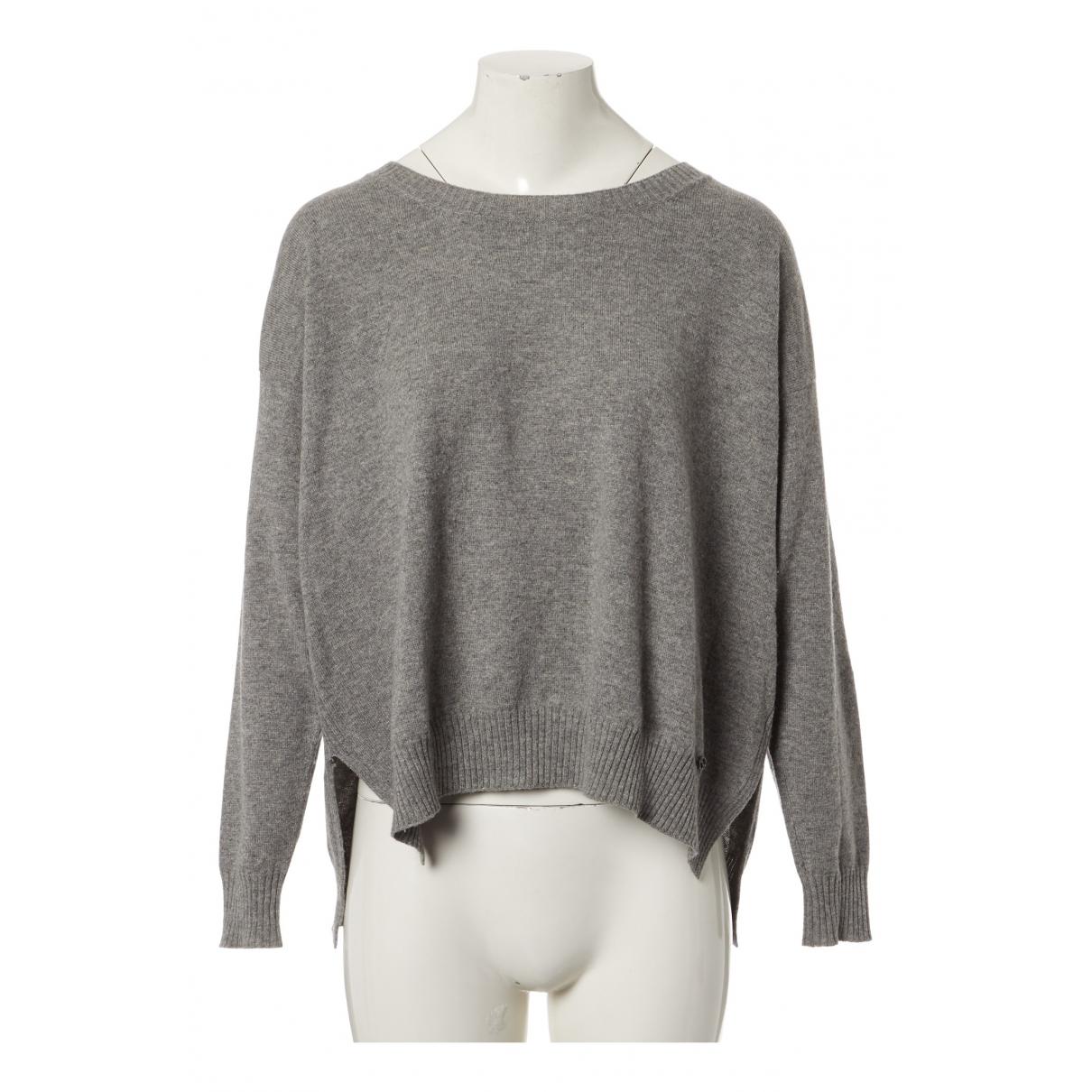 Gucci - Pull   pour femme en coton - gris