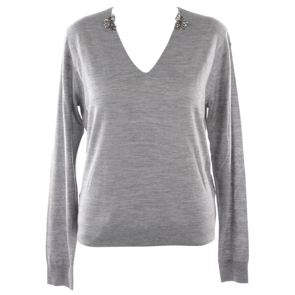 Dorothee Schumacher - Pull   pour femme en laine - gris