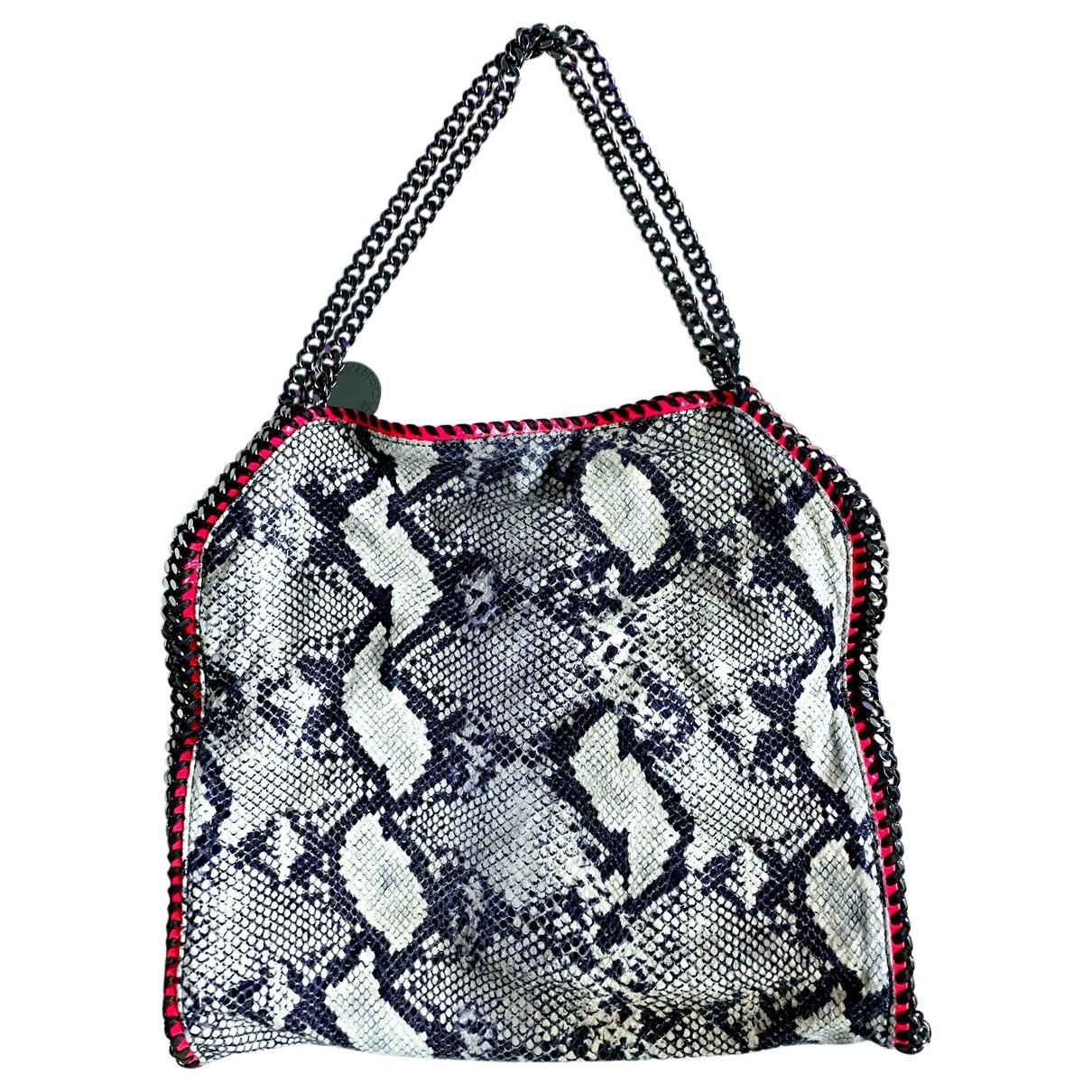 Stella Mccartney Falabella Handtasche in  Bunt Leinen