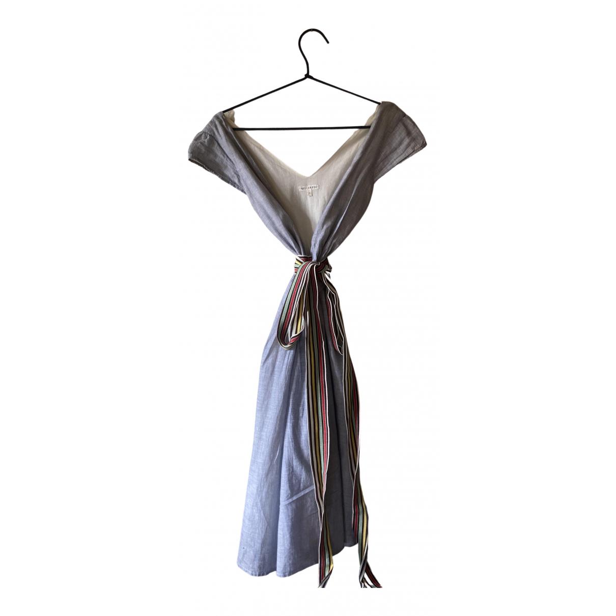 Bellerose \N Kleid in  Blau Baumwolle
