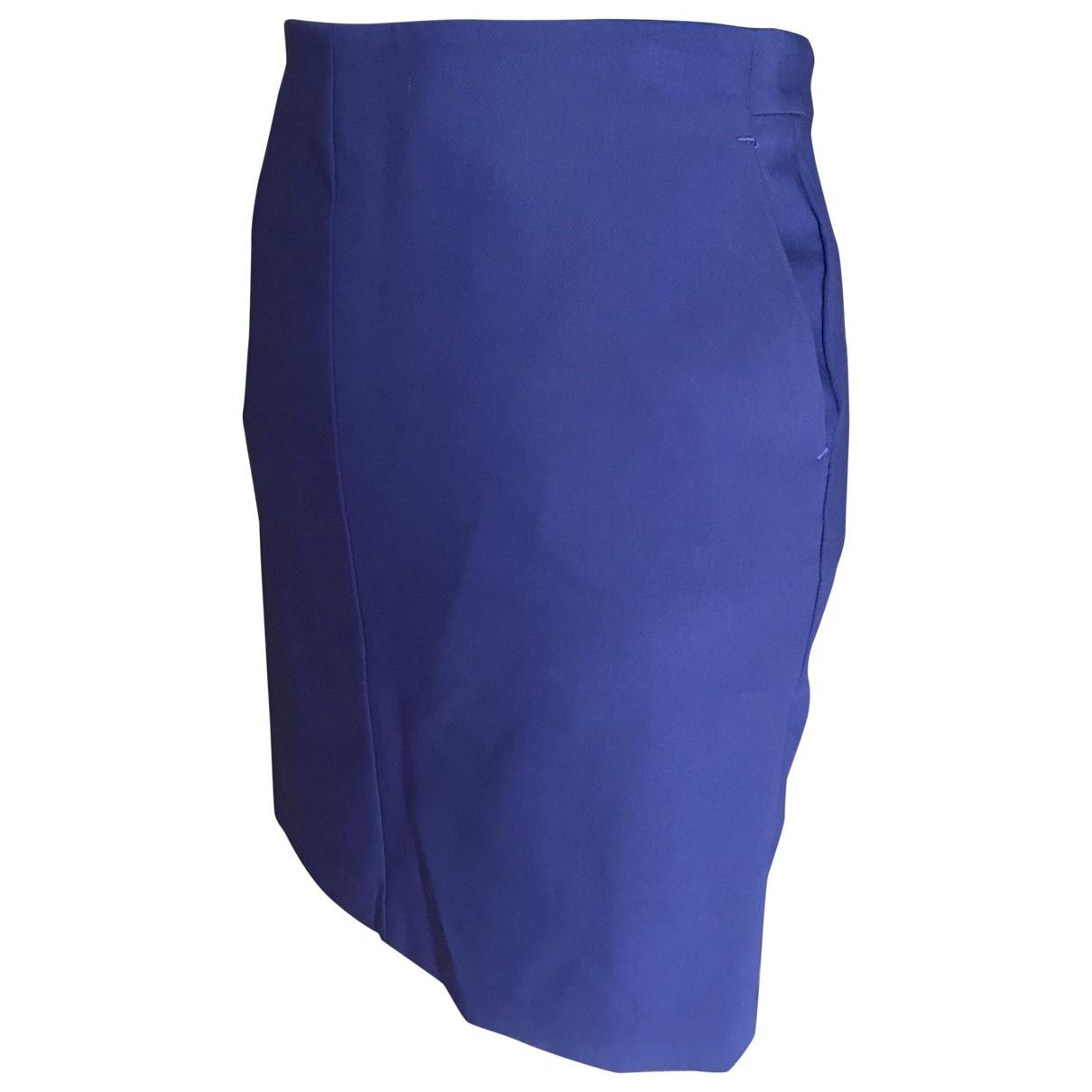 Liu.jo \N Blue Cotton skirt for Women 42 FR