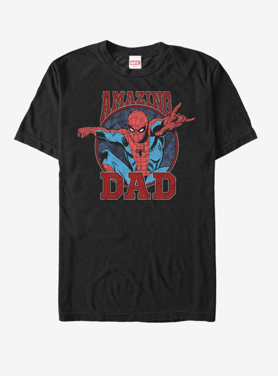 Marvel Father's Day Spider-Man Amazing Dad T-Shirt