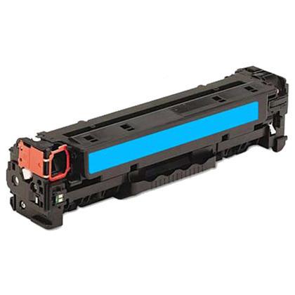 Compatible HP 312A CF381A cartouche de toner cyan - boite economique