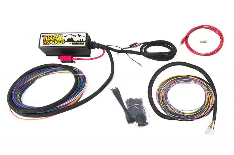 Painless Wiring 57100 Trail Rocker Relay Center - Customizable