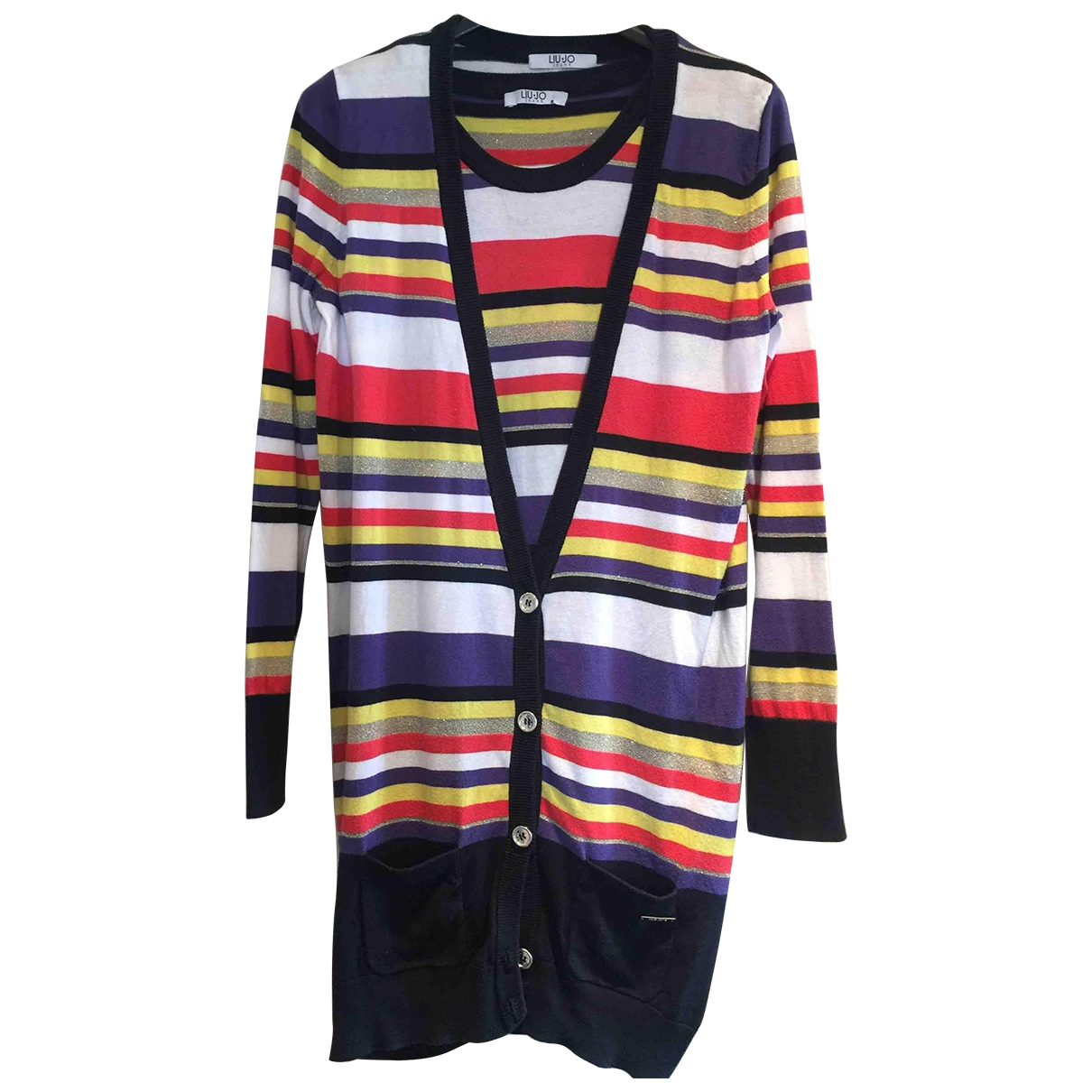 Liu.jo \N Multicolour Cotton Knitwear for Women 42 IT