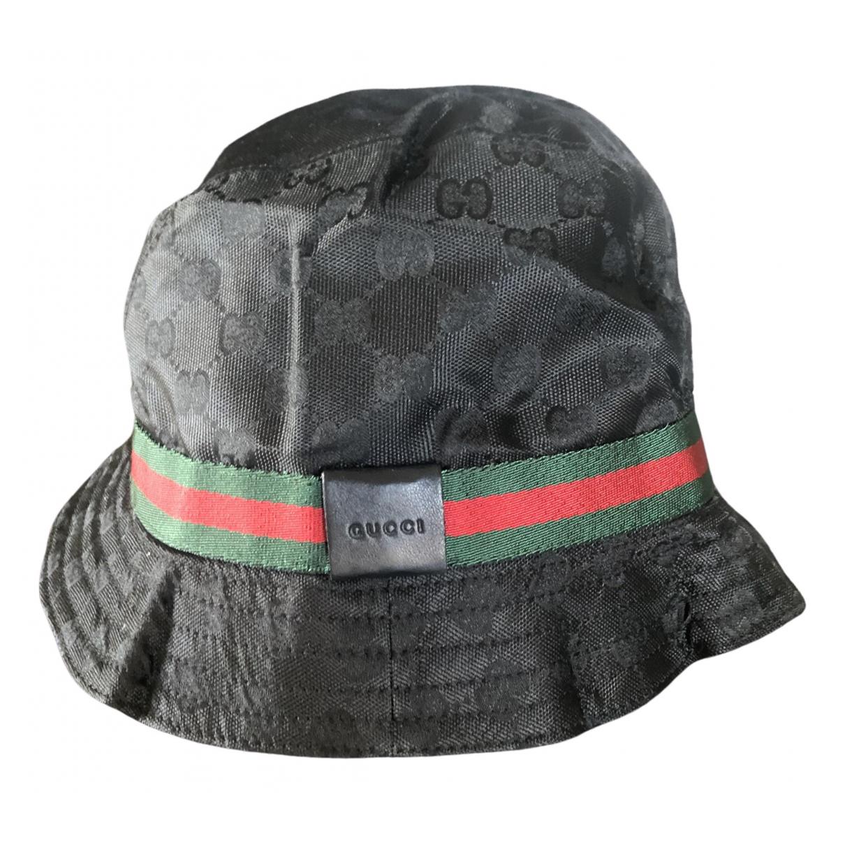 Gucci - Chapeau   pour femme - noir
