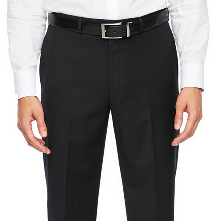 Collection By Michael Strahan Classic Fit Stretch Suit Pants, 44 30, Black