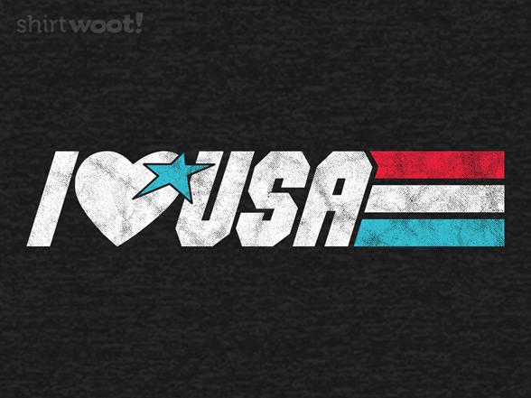 Real American Hero T Shirt