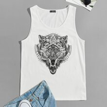 Tank Top mit Lowe Muster