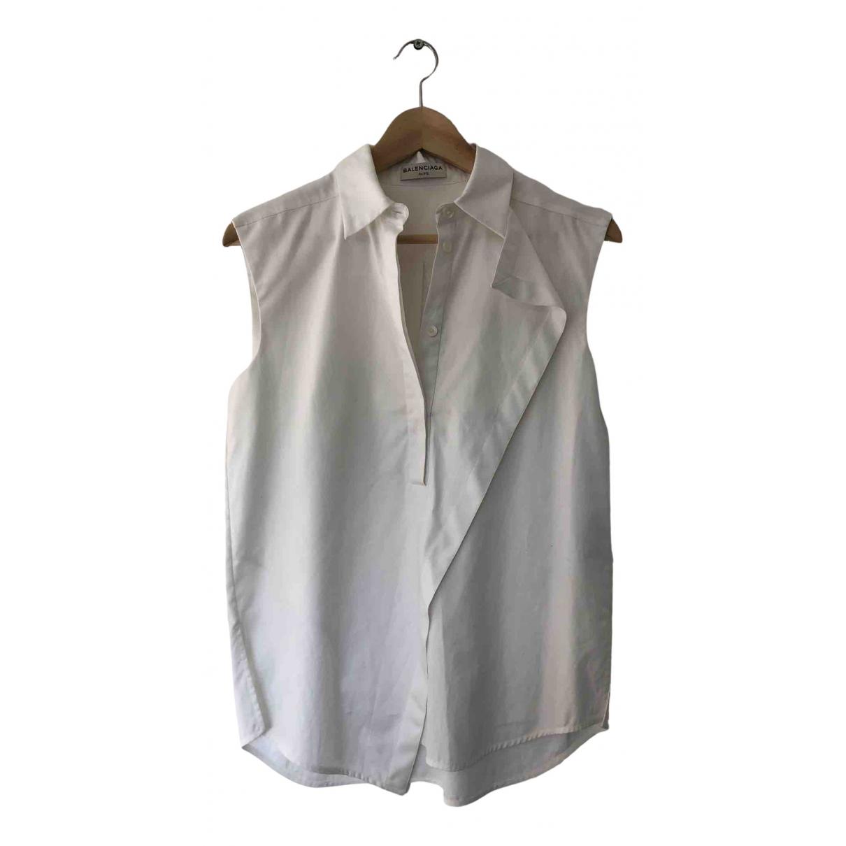 Balenciaga N White Cotton  top for Women 36 FR