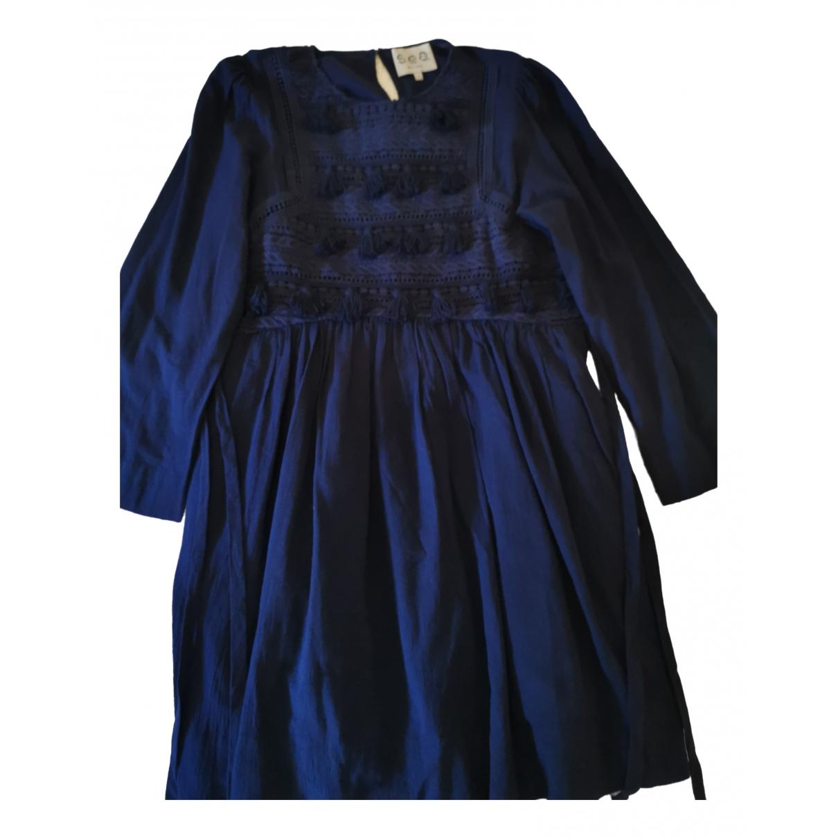 Sea New York \N Kleid in  Marine Baumwolle