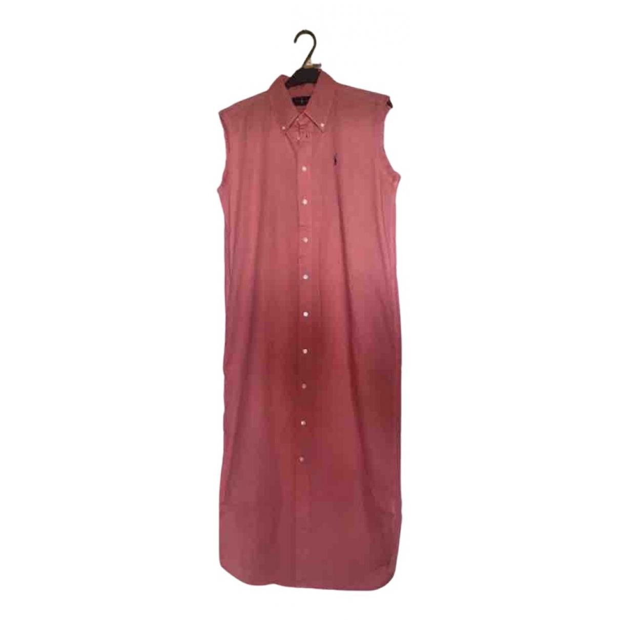 Ralph Lauren N Pink Cotton dress for Women XS International
