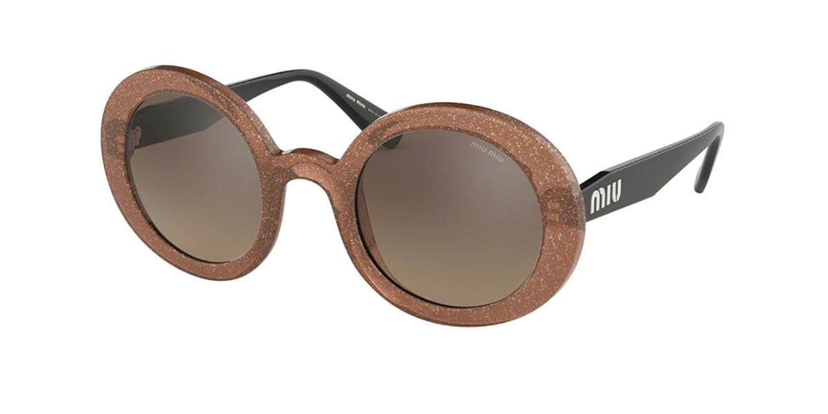 Miu Miu MU06US 1294P0 Women's Sunglasses Brown Size 48