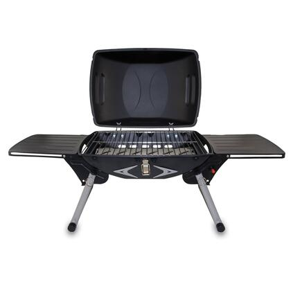 776-00-175-000-0 Portagrillo Portable Propane BBQ Grill in Black with Gray Accents