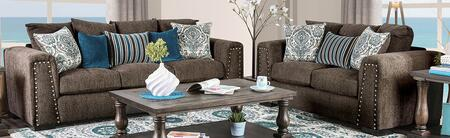 Pauline Collection SM3076-SFLV 2-Piece Living Room Sets with Sofa and Loveseat in