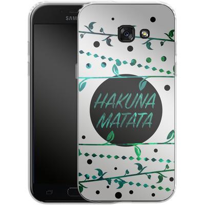 Samsung Galaxy A5 (2017) Silikon Handyhuelle - Hakuna Matata von Statements