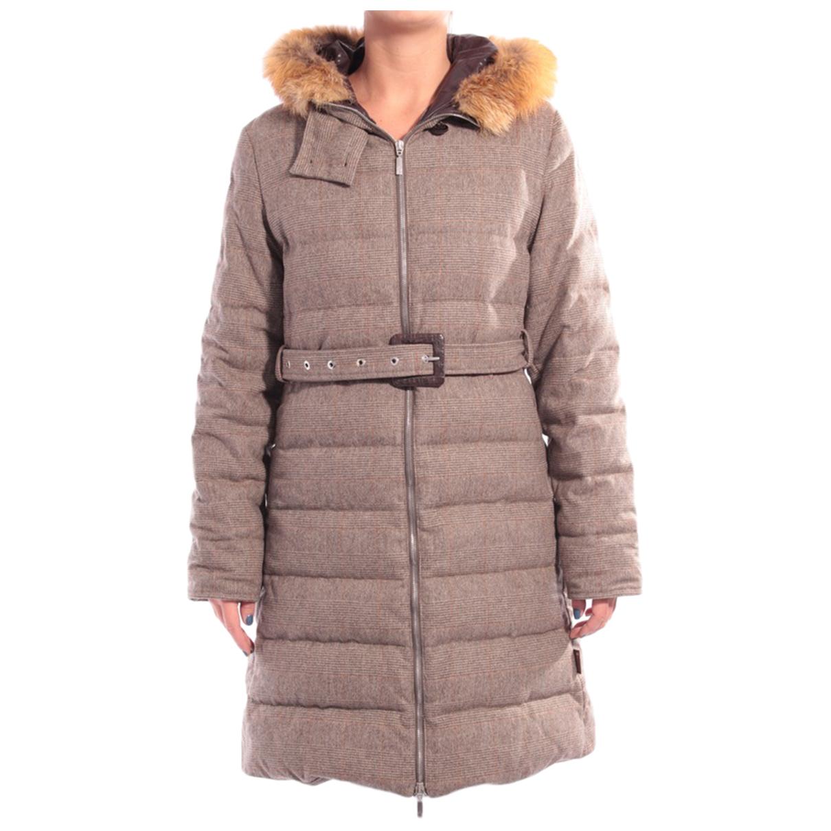 Moncler \N Beige Wool jacket for Women 36 FR