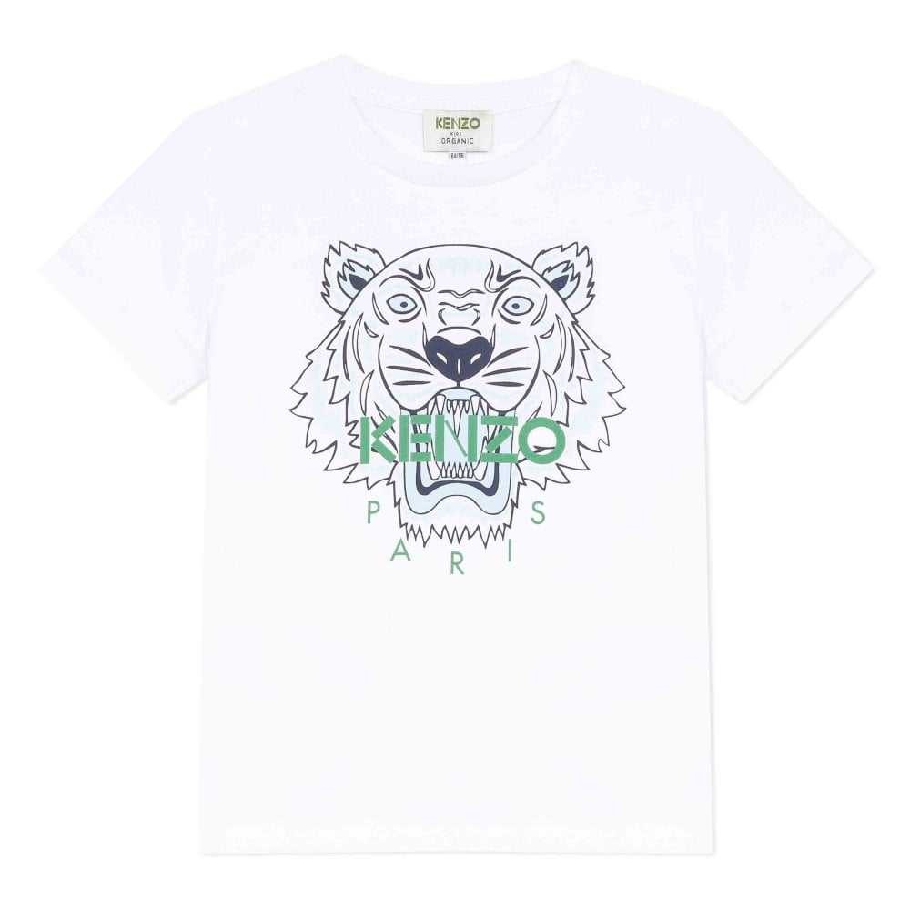 Kenzo Tiger Tshirt Size: 1 YEARS, Colour: WHITE