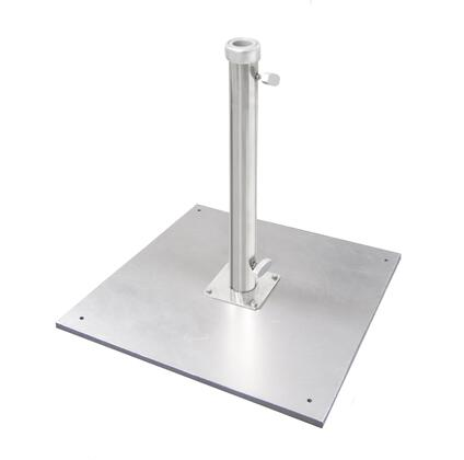 CRLY905 110 LBS Umbrella Base With Silver Anodized