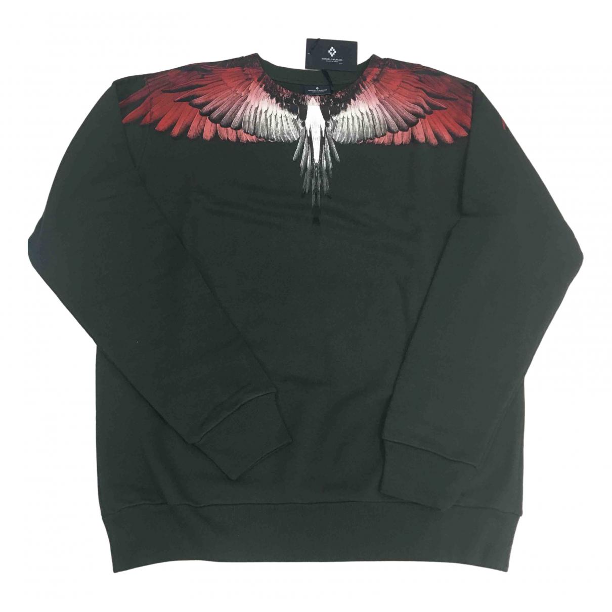 Marcelo Burlon \N Pullover.Westen.Sweatshirts  Gruen