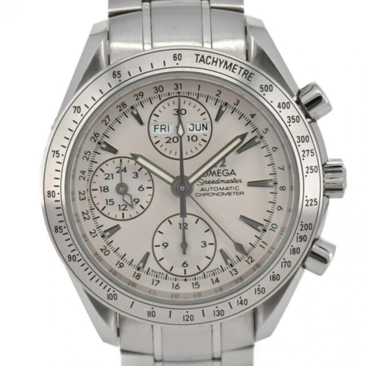 Omega Speedmaster Uhr in  Silber Stahl