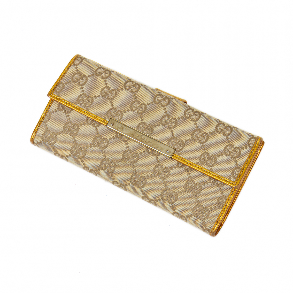 Gucci Continental Cotton wallet for Women \N