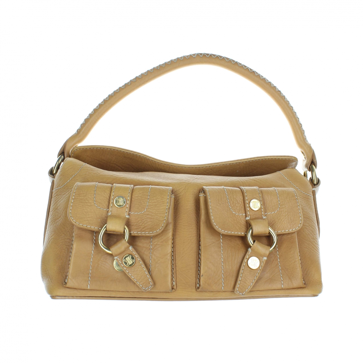 Celine \N Camel Leather handbag for Women \N