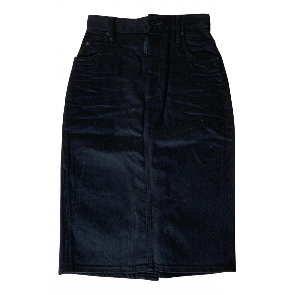 Dsquared2 \N Rocke in  Schwarz Denim - Jeans