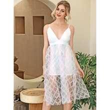 HouseOfChic Ombre Mesh Cami Dress