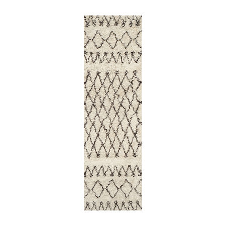 Safavieh Casablanca Collection Stephanie Geometric Runner Rug, One Size , Multiple Colors