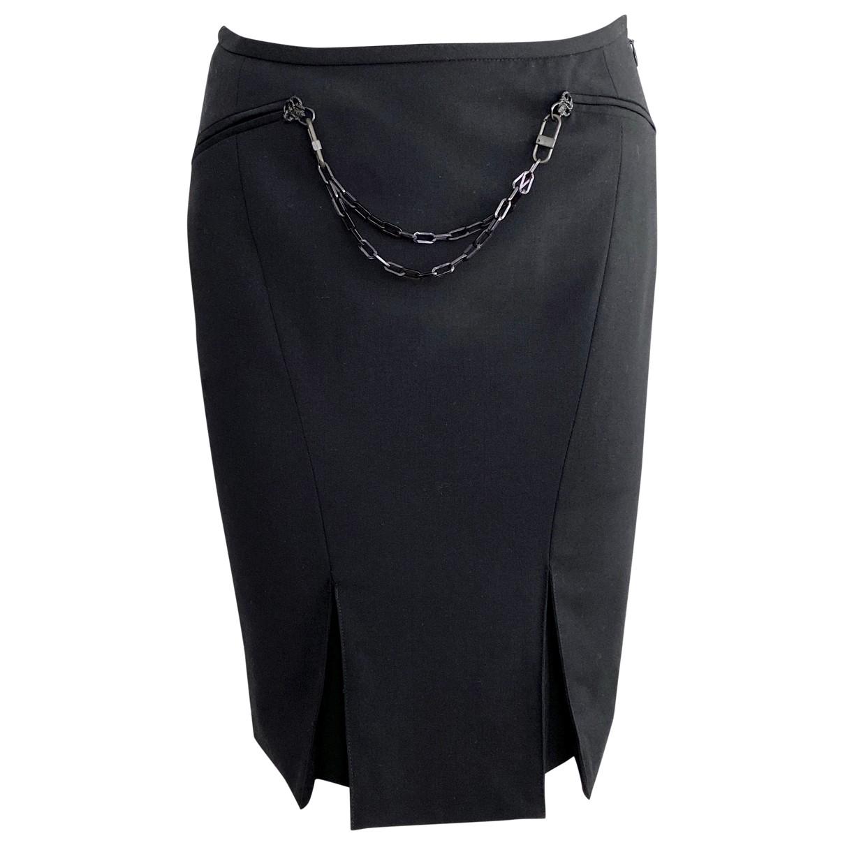 Versace \N Rocke in  Schwarz Wolle