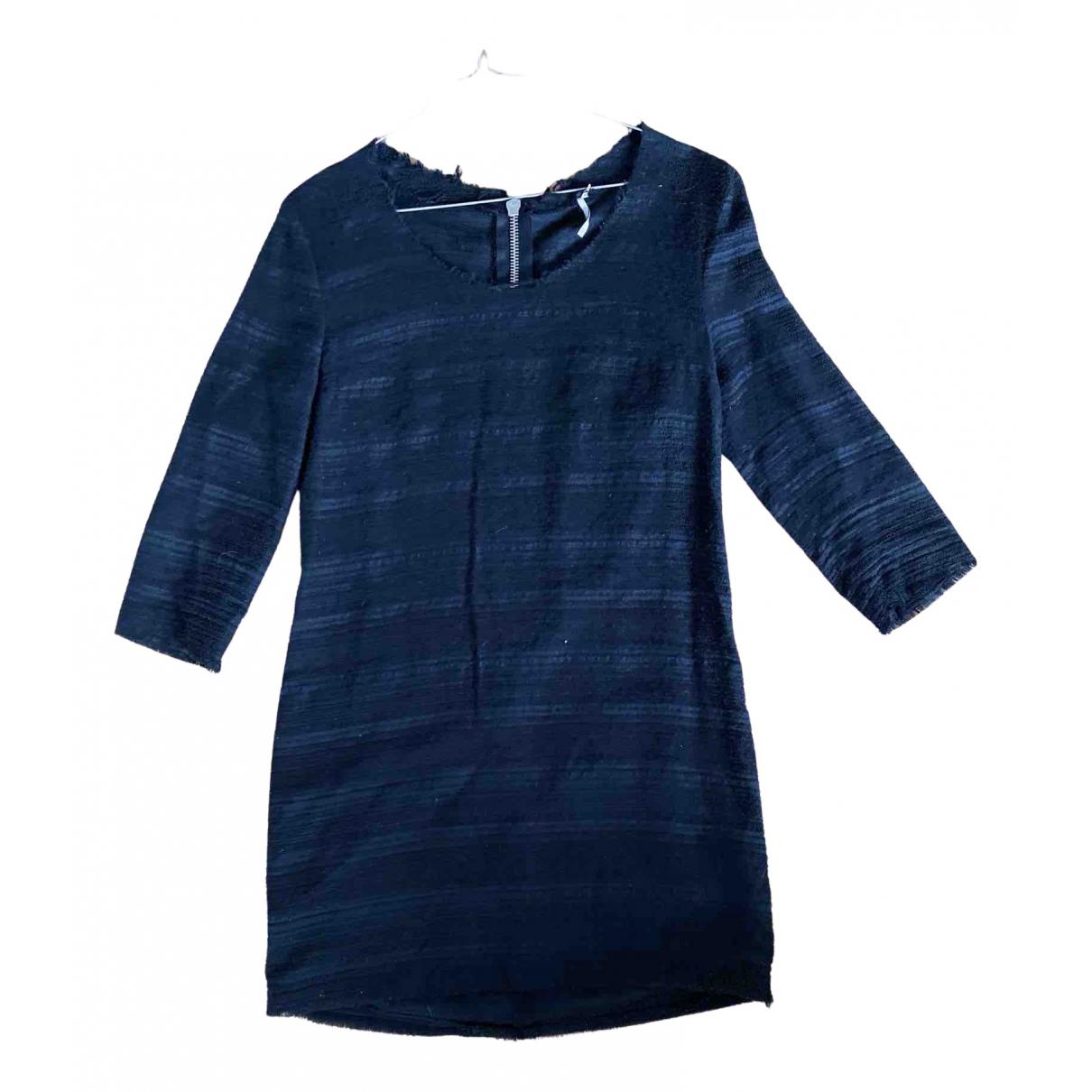Iro \N Kleid in  Schwarz Baumwolle