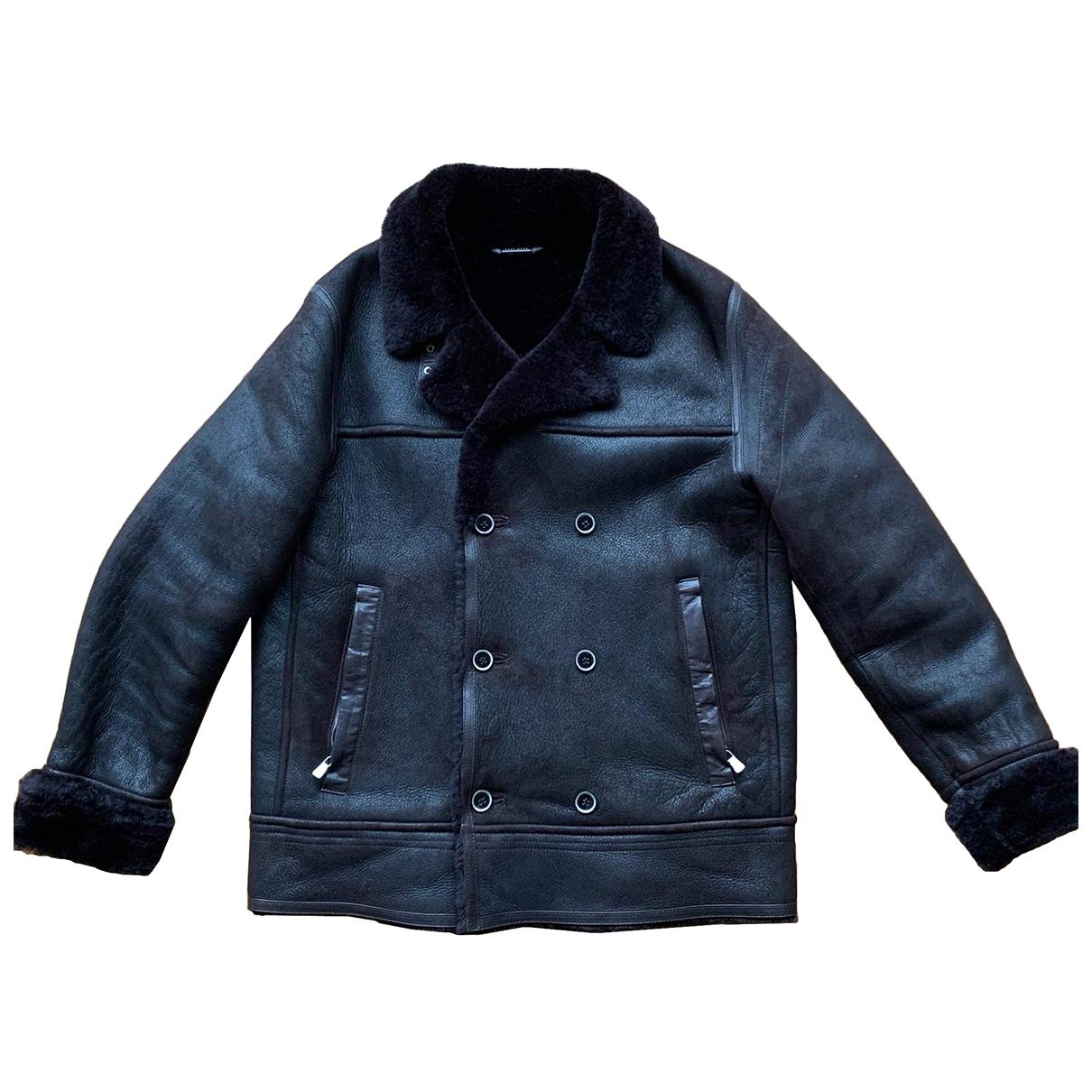 Boss \N Brown Fur coat  for Men 54 IT